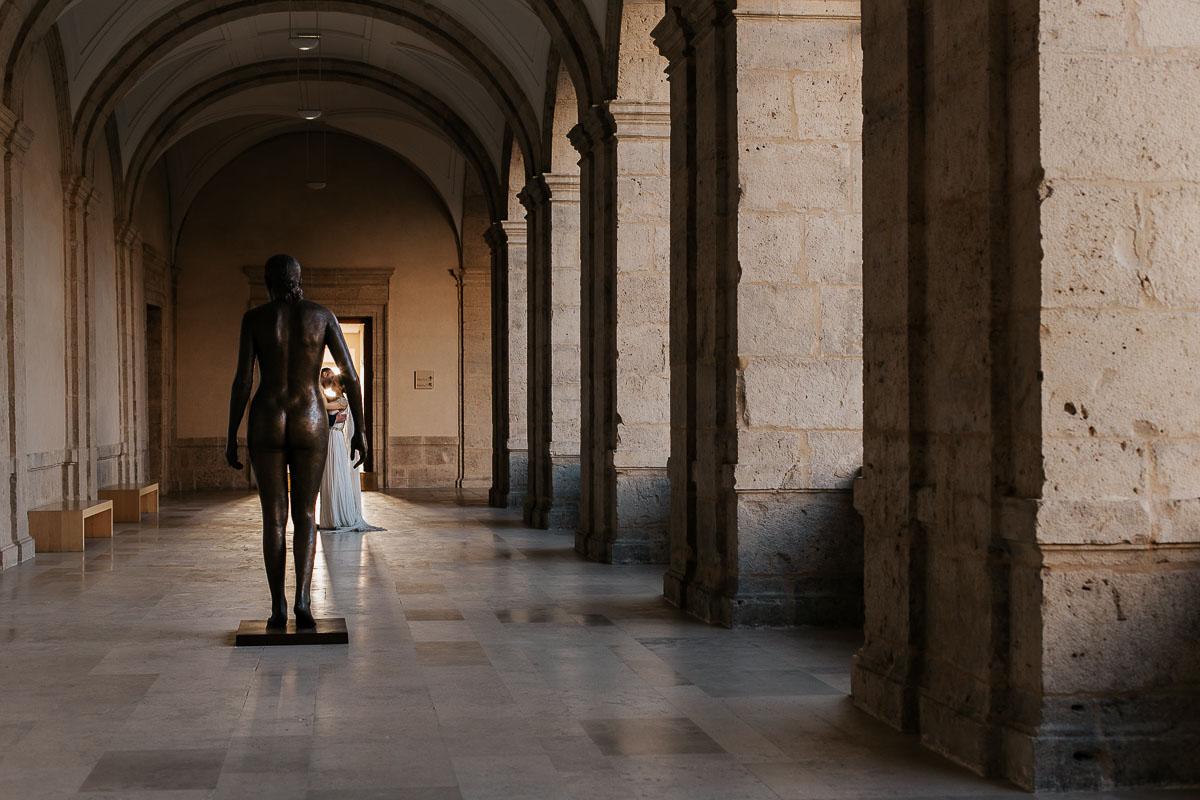 Boda en el Museo Patio Herreriano de Valladolid vídyka weloveyourlove Beatriz y Alfredo-49