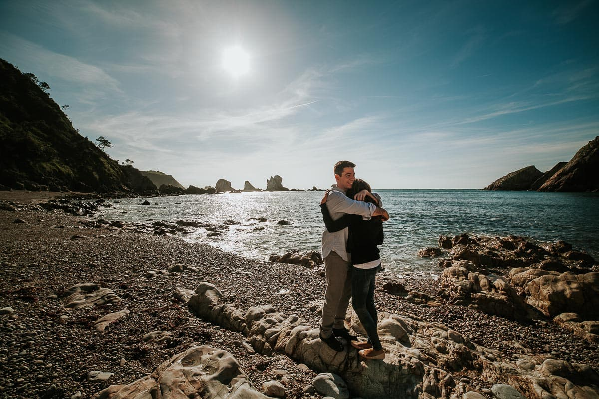 Preboda en Luarca Playa del Silencio Asturias Eva y Rubén-45