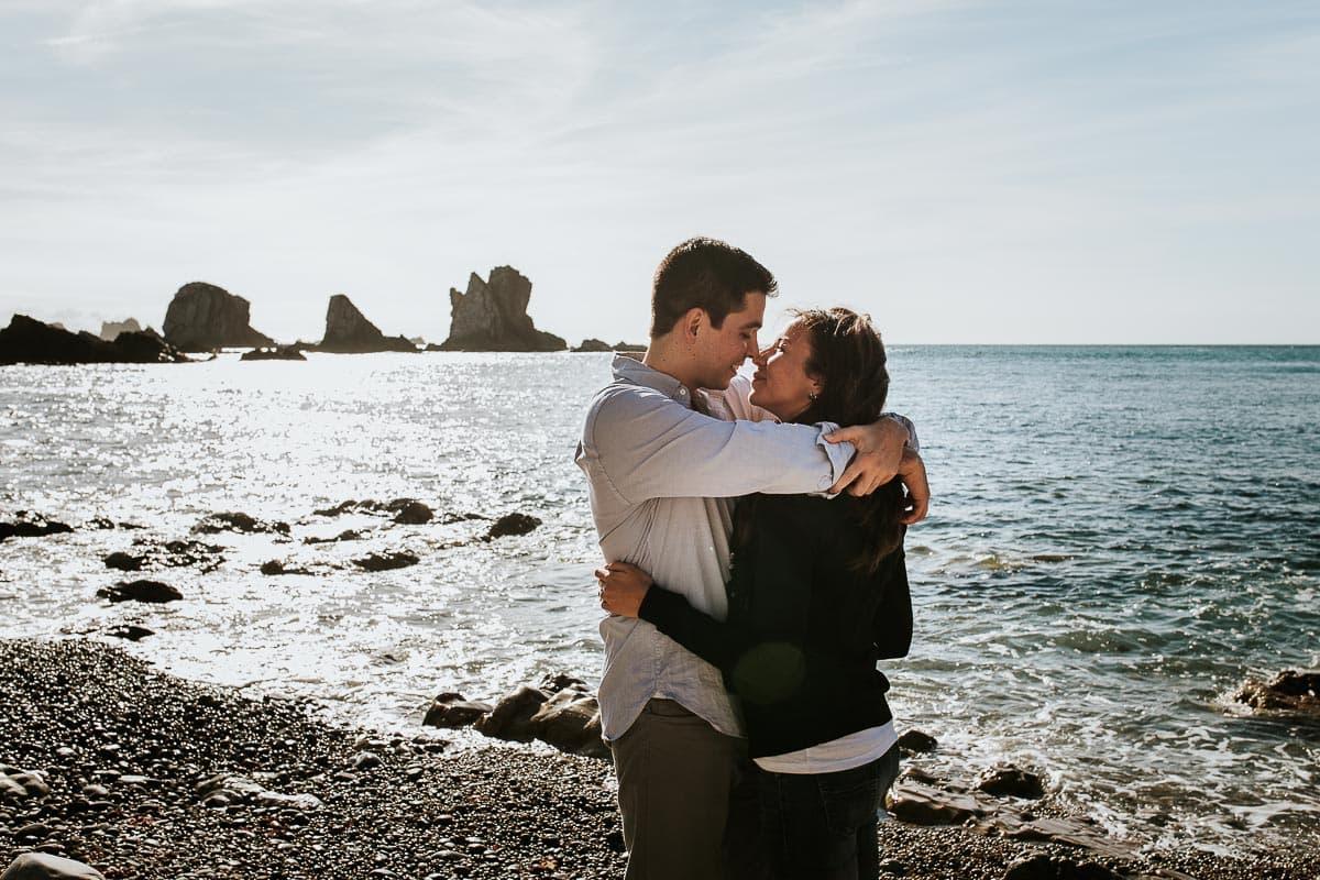 Preboda en Luarca Playa del Silencio Asturias Eva y Rubén-46
