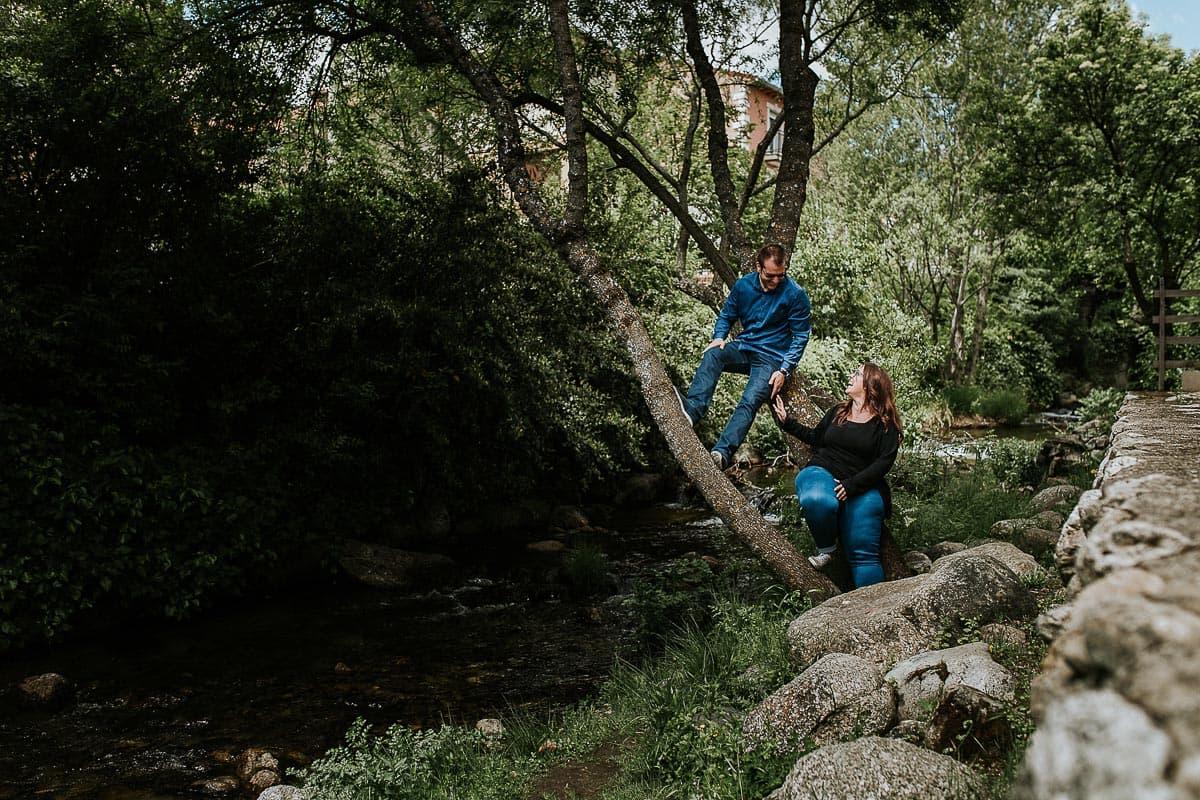 Preboda en Rascafría y el Bosque de los Finlandeses Madrid Leyre y Alberto-4