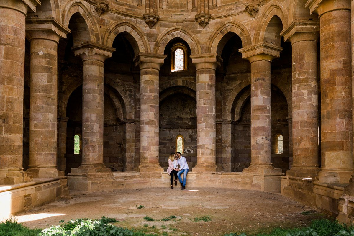 Preboda en el Monasterio de Moreruela de Lara y Gabriel vidyka weloveyourlove 5