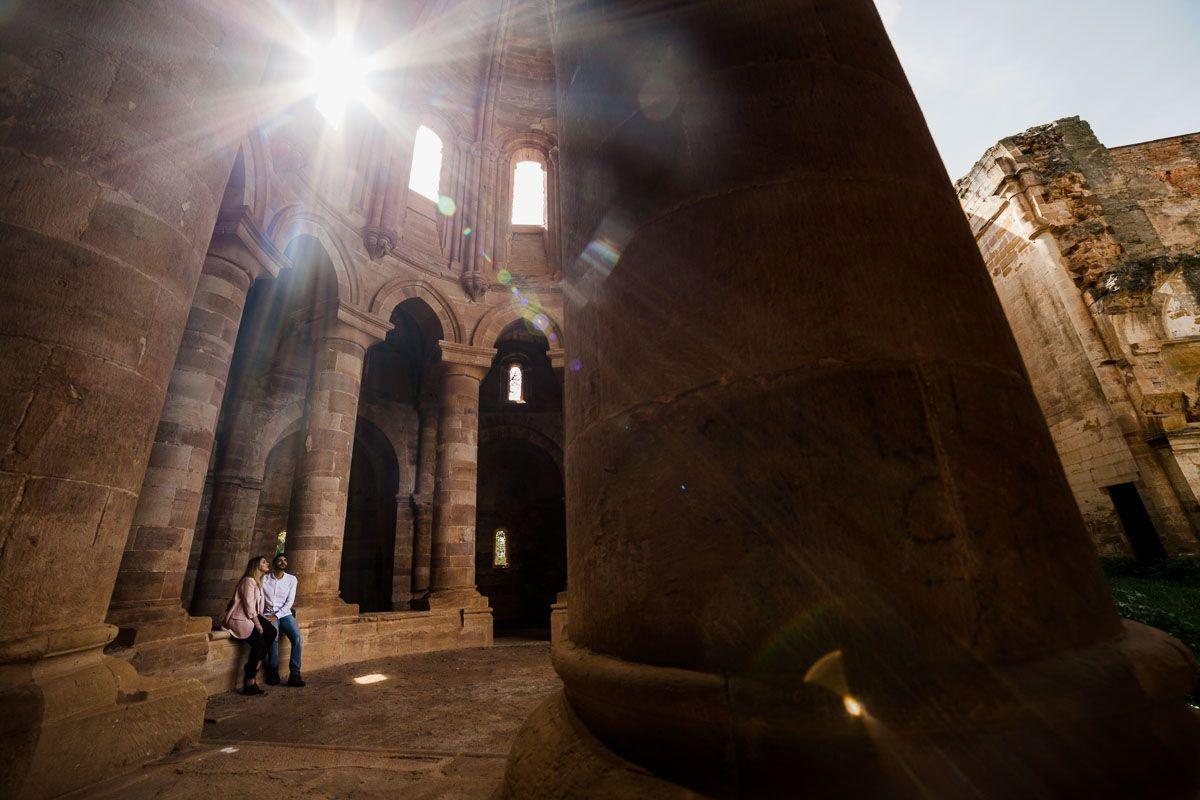 Preboda en el Monasterio de Moreruela de Lara y Gabriel vidyka weloveyourlove 6