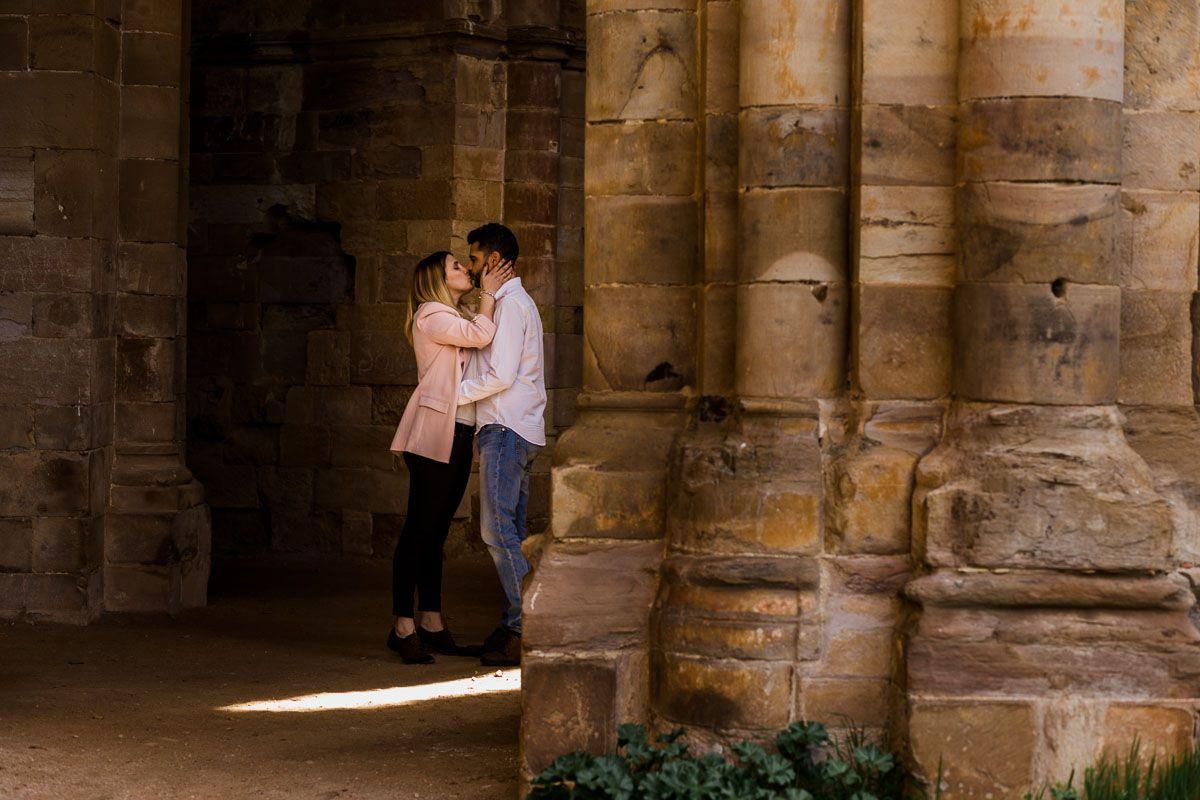Preboda en el Monasterio de Moreruela de Lara y Gabriel vidyka weloveyourlove 9