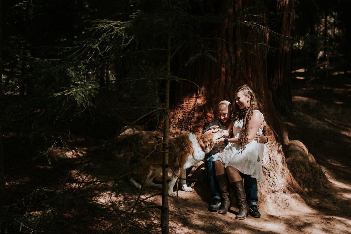 Preboda en el bosque de sequoias Sara y David weloveyourlove 002