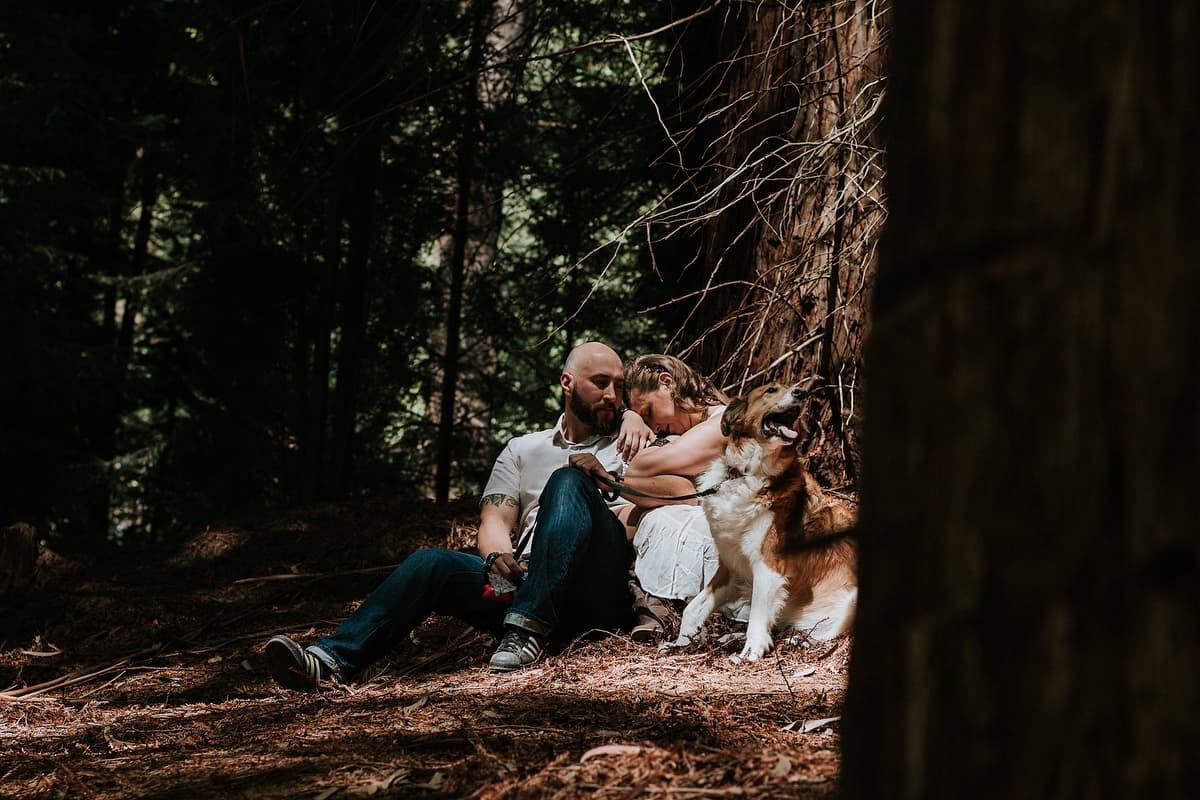 Preboda en el bosque de sequoias Sara y David weloveyourlove 016