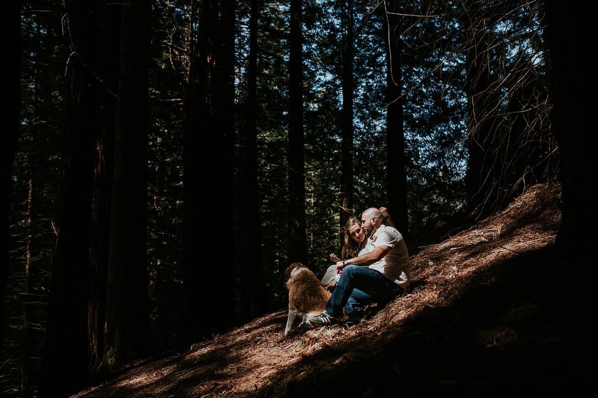 Preboda en el bosque de sequoias Sara y David weloveyourlove 018